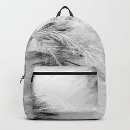Marabou Feathers Backpack