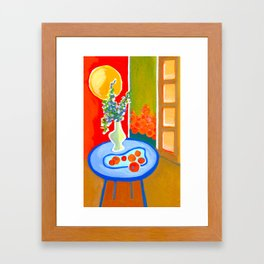 oranges in the afternoon ... Framed Art Print