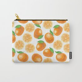 Watercolor tangerines Carry-All Pouch