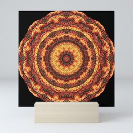 Kaleidoscope pleasant evening Mini Art Print