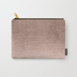 Moon Dust Rose Gold Carry-All Pouch