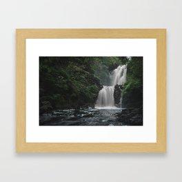 Rha Falls - Isle of Skye, Scotland Framed Art Print