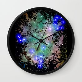 The Zodiac Sign -- Pisces Wall Clock