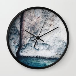St. Lucia Cliffs Wall Clock