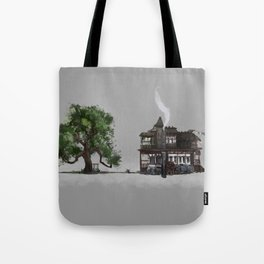 The Oak and the Crow Inn Tote Bag