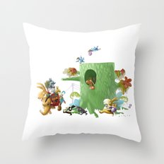 Moving Throw Pillow