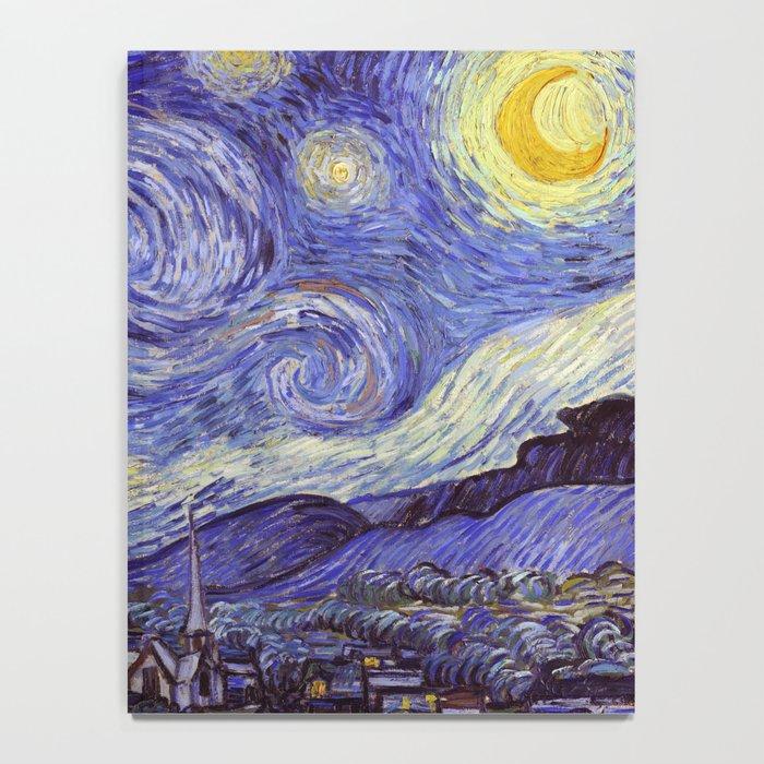 Vincent Van Gogh Starry Night Notebook