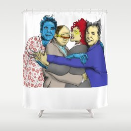 The Uncanny Seinfeld Shower Curtain