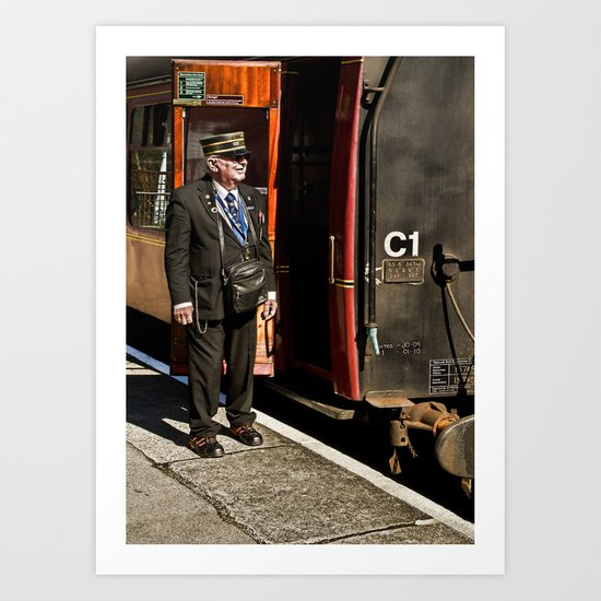 The Ticket Collector Art Print