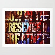 Greatness Art Print