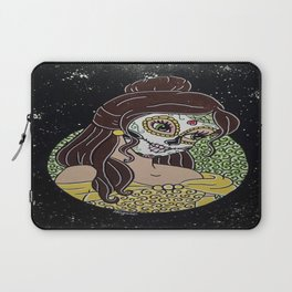 Belle Sugar Skull Laptop Sleeve