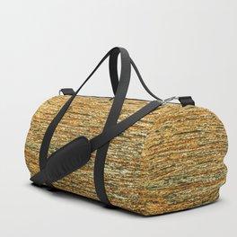 Abstract Geometric Gold Silver Glitter Modern Pattern Duffle Bag