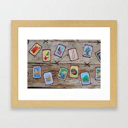 Loteria Framed Art Print