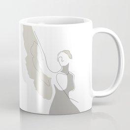 Cream Wings Coffee Mug