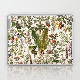 Adolphe Millot - Plantes Medicinales B - French vintage poster Laptop & iPad Skin