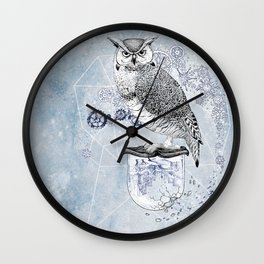 Owl Theory Wall Clock