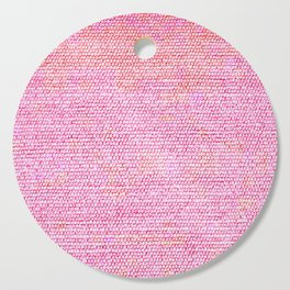 Pink Simple Flat weave Rug Texture Pattern Cutting Board