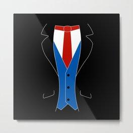 Suit Metal Print