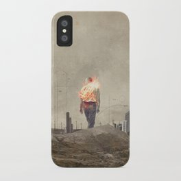 These cities burned my soul iPhone Case