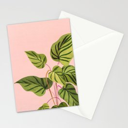 Upstart / Tropical Plant Stationery Cards
