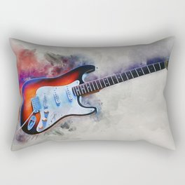 Electric Gitar Rectangular Pillow