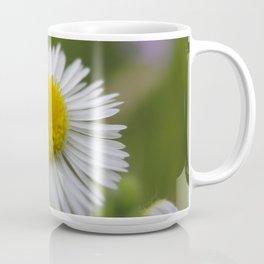 Close up of a white daisy flower Coffee Mug