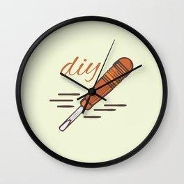 DIY ART Wall Clock