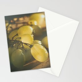 Food. Fruit. Summer grapes Stationery Cards