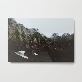 Hidden Mountains Metal Print