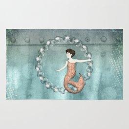 Mermaid Wreath Rug