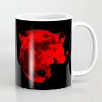 werewolf Mugs featuring Werewolf by Badamg