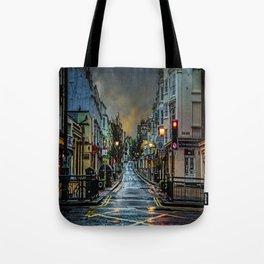 Wet Morning In Kemp Town Tote Bag