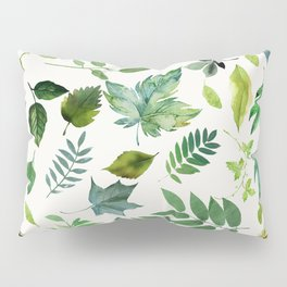 Circle of Leaves Pillow Sham