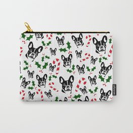CHRISTMAS GIFTS, FRENCH BULLDOG LOVERS GIFT WRAPPED FROM MONOFACES IN 2020 Carry-All Pouch