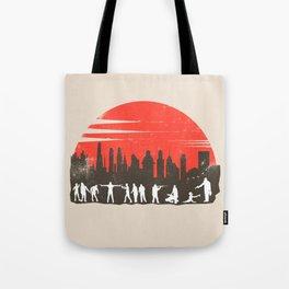 Zombie Control Tote Bag