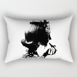 WOMAN SOLDIER Rectangular Pillow