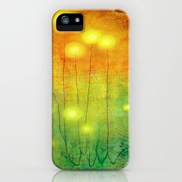 Glowing Lights iPhone Case