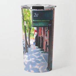 Sunday Morning in Brooklyn, NY Travel Mug