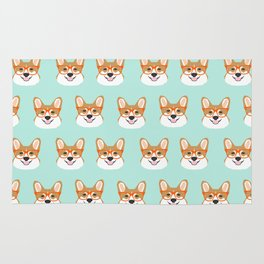 Corgi glasses cute funny dog gifts for welsh corgi dog breed owners must haves by pet friendly Rug