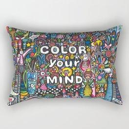 color your mind by Astorg Audrey Rectangular Pillow