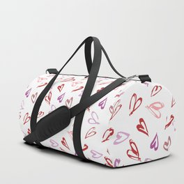 Colorful hearts Duffle Bag