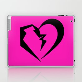 Hot Pink Heartbreak Laptop & iPad Skin