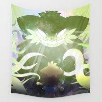nightmare Wall Tapestries featuring Nightmare by Skyler