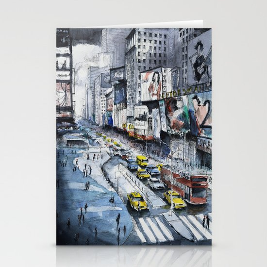 Time square - New York City Stationery Cards