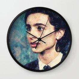 Timmy Watercolor Wall Clock