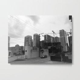 Reconstruction Metal Print