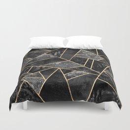 Black Stone 2 Duvet Cover