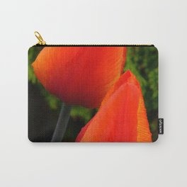 Red Flame Tulip by Teresa Thompson Carry-All Pouch