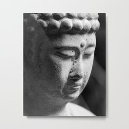 Buddha, meditation art. Metal Print