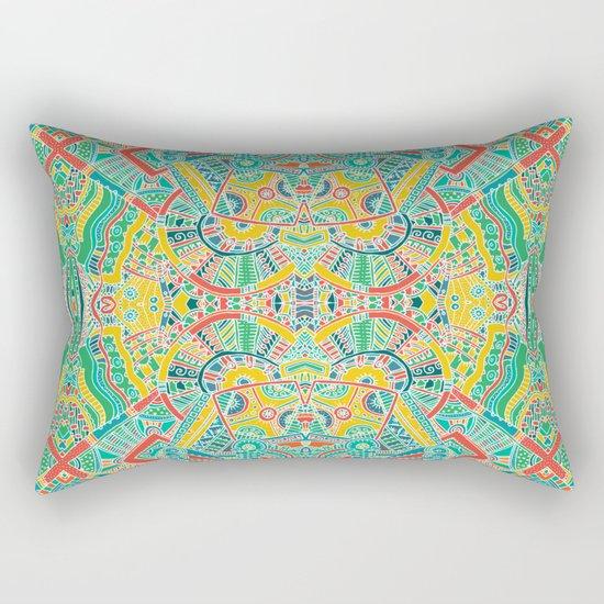 Boho pattern Rectangular Pillow